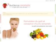 Evidence Aromatic, formulation du goût et langage aromatique