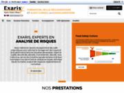 screenshot http://www.exaris.fr formation haccp
