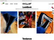 screenshot http://www.exclusifchaussures.fr Exclusif - chaussures en cuir