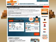 screenshot http://www.expedeasy.com Envoi de colis