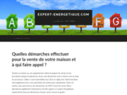 screenshot http://www.expert-energetique.com abitalis expertise énergetique 53 - 72 - 35