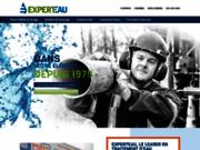 screenshot http://experteau.com/services/puits-et-forage.php forage de puits artésiens