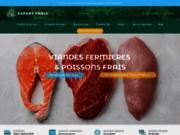 screenshot http://www.expertfrais.fr expert frais produits frais en ligne en 24 h