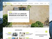 screenshot http://www.experts-immobilier.fr diagnostic gaz