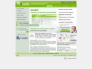 screenshot http://www.eyade.com intranet documentaire