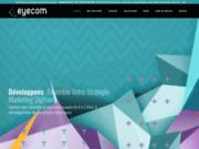 screenshot http://www.eyecom-dz.com conception,développement, hébergement de site web