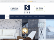 screenshot http://www.eyrieux-immobilier.com/ maisons, appartements et immobilier en ardèche