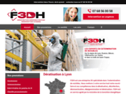 screenshot https://www.f3dh.fr Dératisation lyon