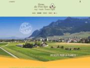 screenshot http://www.f3e.ch la ferme des trois épis sàrl - produits du terroir