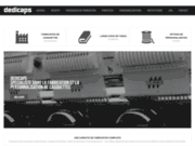 screenshot http://www.fabricant-casquette.com/ fabricant de casquettes personnalisées.