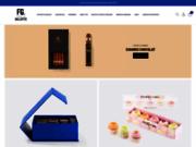 screenshot http://www.fabrice-gillotte.fr/ boutique chocolat - chocolatier