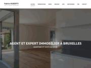 L'agence immobilière de Koekelberg