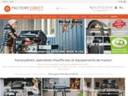 screenshot http://www.factorydirect.fr/ magasin d'usine, prix d'usine - factorydirect pro