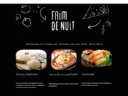 screenshot http://www.faimdenuit.fr traiteur à pris discount