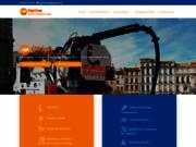 screenshot http://www.farina-marseille.fr nettoyage et assainissement