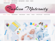 screenshot http://www.fashion-maternity.com maternity fashion