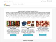 Une décoration de noël africaine