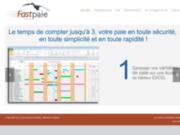 screenshot http://www.fastpaie.com fast paie logiciel de paie