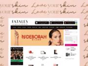 screenshot http://www.fatales.tn vente parfums tunisie