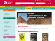 screenshot http://www.faton-beaux-livres.com/ beaux livres