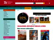 screenshot http://www.faton.fr/ abonnement magazines édition beaux livres