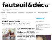screenshot http://www.fauteuiletdeco.com tapissier