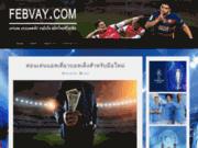 screenshot http://www.febvay.com febvay france