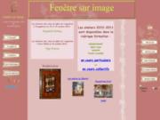 screenshot http://fenetresurimage.fr fenêtre sur image - l'atelier d'encadrement d'art de christine dumètre