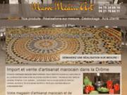 screenshot http://www.fer-forge-marocain.com/ fer forgé marocain valence