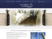 screenshot http://www.fer-forge-provence.fr/portail-en-fer-forge-situe-avignon.html Portail en fer forgé Avignon