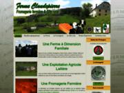 screenshot http://www.fermeclaudepierre.fr ferme claudepierre