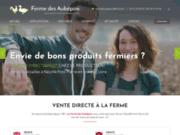 screenshot http://www.fermedesaubepins.com/ La Ferme des Aubépins