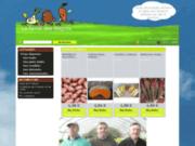 screenshot http://www.fermedesmagres.fr ferme des magrès