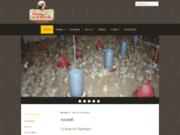 screenshot http://www.fermeduchardonnet.fr la ferme du chardonnet