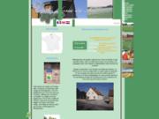 screenshot http://www.fermedulin.com gîtes et ferme pédagogique