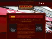screenshot http://www.fernand-bordeaux.com fernand, bistro bordelais