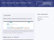 screenshot http://www.fernandes-couverture.fr travaux de rénovation à vouziers