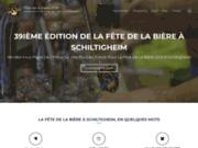 screenshot https://www.fetedelabiere.info Fête de la bière