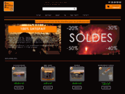 screenshot http://www.feu-artifice-pro.fr/ Site de vente en ligne de feux d'artifices