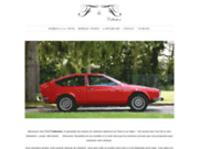 screenshot http://www.ff-collection.fr Vente Fiat 500 et voitures de collection italiennes sur Paris
