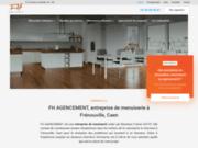 Entreprise de menuiserie FH Agencement à Frénouville