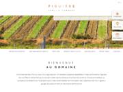 screenshot http://www.figuiere-provence.com Vin bio provence