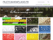 Filet de camouflage sur mesure