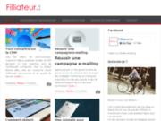 Site Internet du blog Filliateur