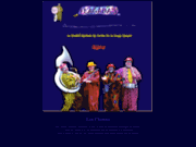 screenshot http://www.flagadas.com clowns musiciens flagadas