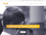 screenshot https://flagshipsecurite.com Flagship Sécurité les meilleurs services