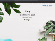 Le Paradis des Fleurs, pour la livraison de vos fleurs à Cannes