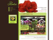 screenshot http://www.fleuriste-tarbes-floreve.com livraison de fleurs à tarbes 65
