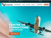 screenshot https://www.flight-air-formation.fr/ Flight' Air Formation