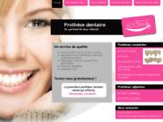 screenshot http://www.floceram-prothese-dentaire.fr prothèses dentaires doubs jura haute-saône belfort